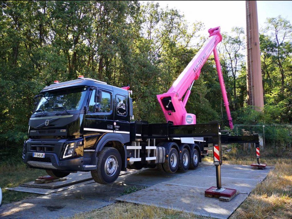service professionnel de location camion nacelle