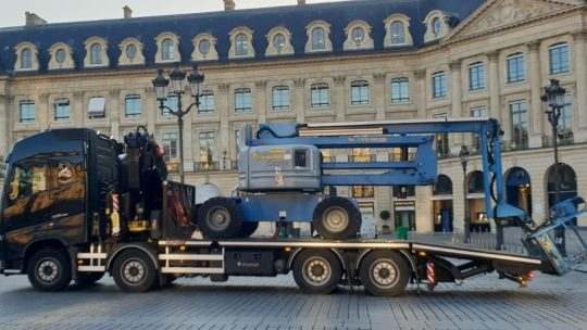 location camion grue